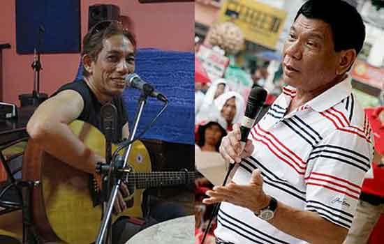 Veteran singer choose to Vote Mayor Duterte on May 9