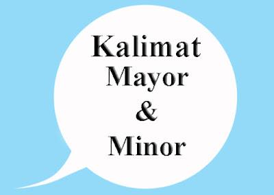 Permalink ke Pengertian Kalimat Mayor dan Kalimat Minor Beserta Contohnya