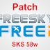 FREESKY / FREEI PATCH DE ATIVAÇÃO 58W E 61W - 12/08/2017