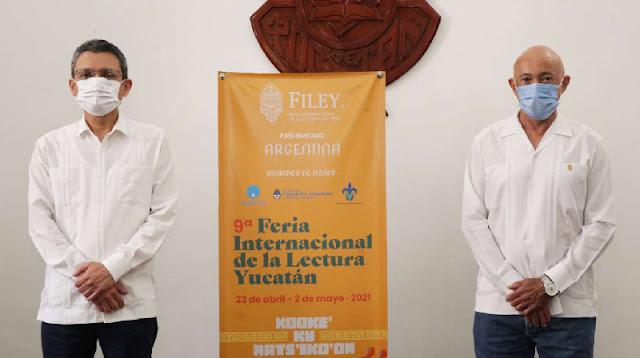 Anuncian la 9ª edición de la FILEY con más de 200 actividades virtuales