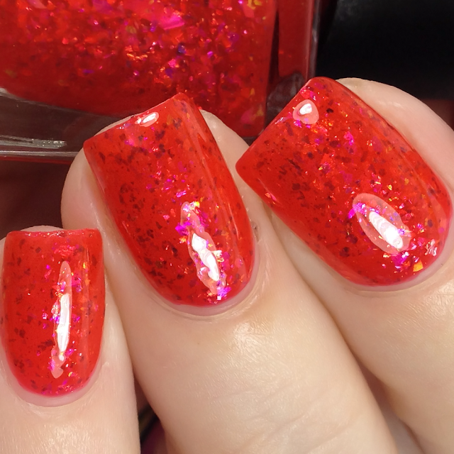 Night Owl Lacquer-The Blood Moon Rises
