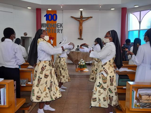Windhoek Priory  Centenary Holy Mass