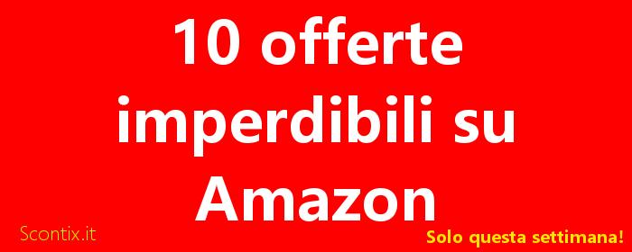 Amazon black friday 2017 sconti