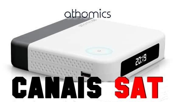 Athomics S3 Nova Atualização V1.1.0 - 26/07/2019