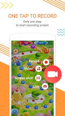 Screen Recorder with Audio, Facecam, dan Screenshot