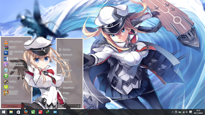 Theme Windows 10 Graf Zeppelin Kantai Collection 1
