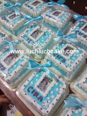 mini cake souvenir ulang tahun