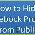 Hide My Profile On Facebook