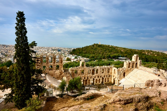 Odeon of Herodes Atticus, Athina, Greece. Free stock image from Pexels by Josiah Lewis