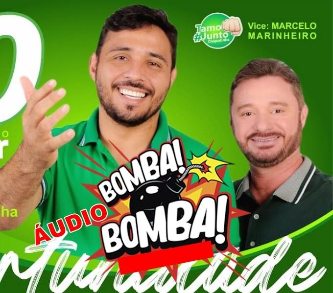 Em áudio Bombástico, vice de Higor Almeida admite que Belezinha será eleita prefeita de Chapadinha, e detona Esposa de Talvane Hortegal.
