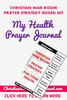 My Health Prayer Journal