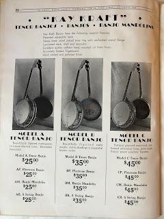 Kay Kraft banjos