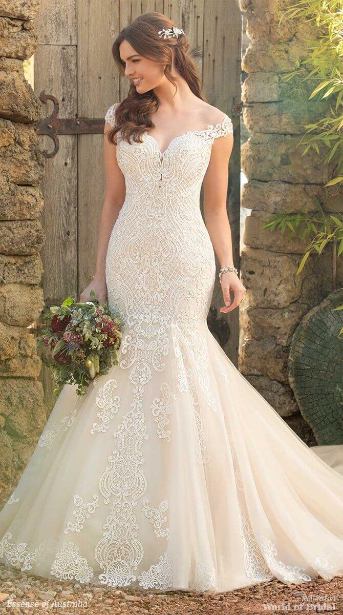 25eb89e2264b7 Essense of Australia Spring 2018 Wedding Dresses - World of Bridal