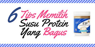 6 Tips Memilih Susu Protein Yang Bagus