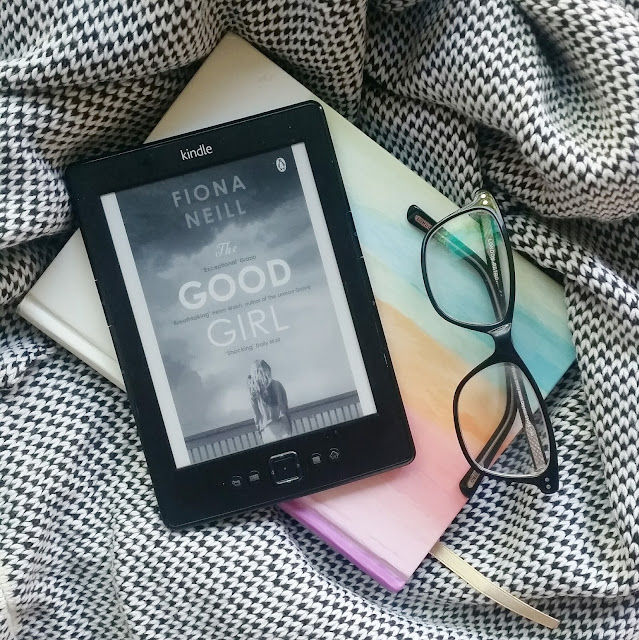 THE GOOD GIRL BOOK ON KINDLE WITH GLASSES