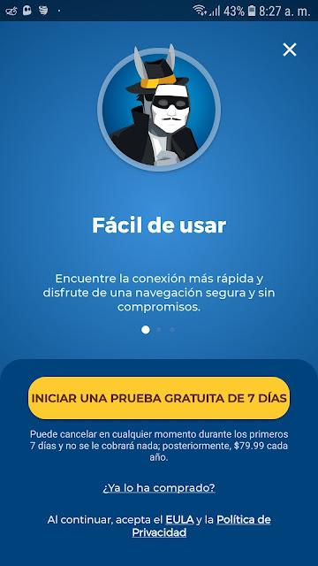 COMO OBTENER PRUEBA GRATUITA HMA VPN
