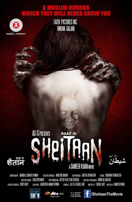 Raaz-E-Sheitaan 2019 Hindi Movie 720p HDRip 300MB Download