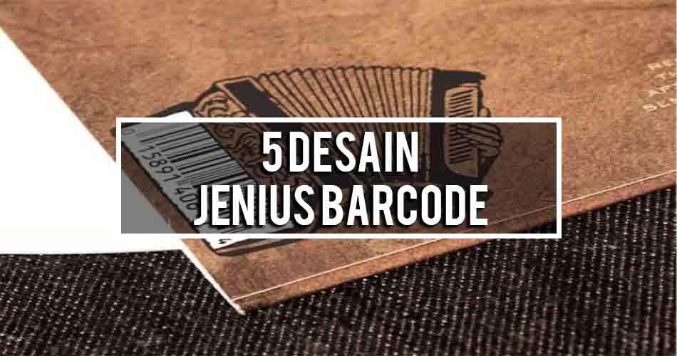 kali ini aku akan membahas mengenai ihwal 5 Desain Jenius Barcode Sepanjang Masa