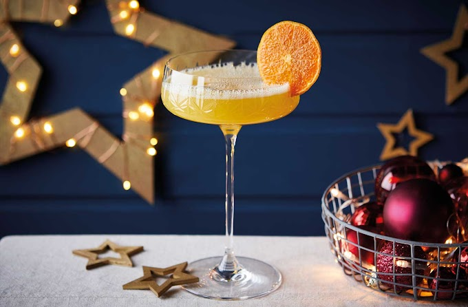 Clementine Prosecco Cocktail - Christmas Cocktail Recipe