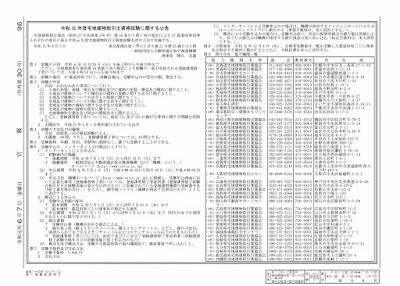 令和元年度 宅建士試験の流れ