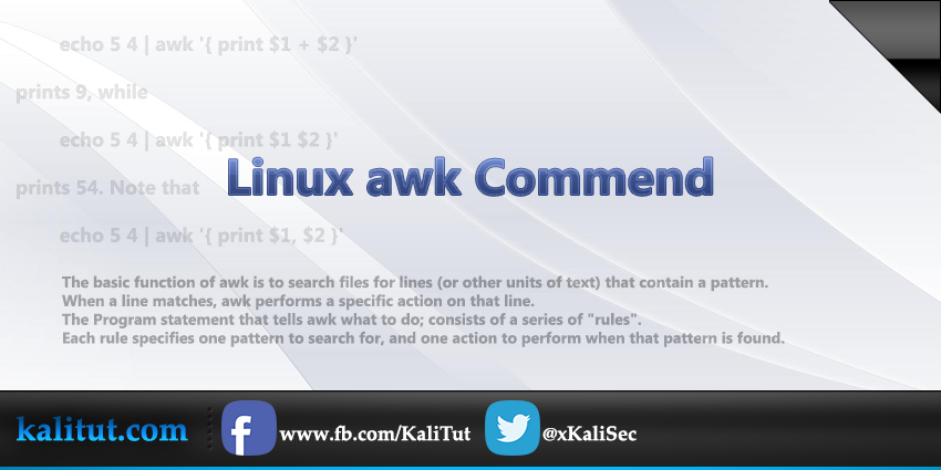 How to Use Awk and Regular Expressions to Filter Text or ...