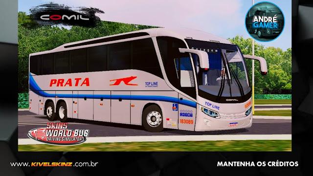 COMIL 1200 6X2 - VIAÇÃO EXPRESSO DE PRATA
