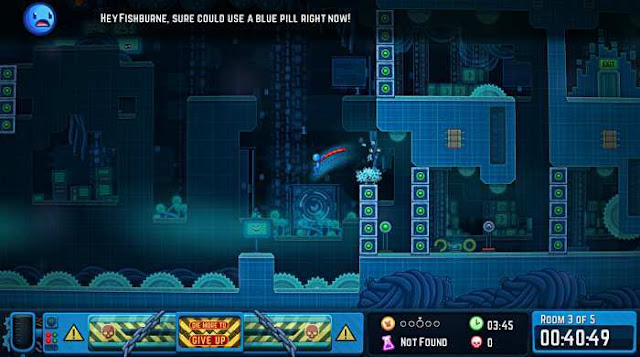 Never Give Up is a hardcore arcade platformer about the adventures of a stickman looking for himself.
