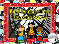 https://www.teacherspayteachers.com/Product/Rockin-The-Clock-Fraction-and-Time-Game-2360786