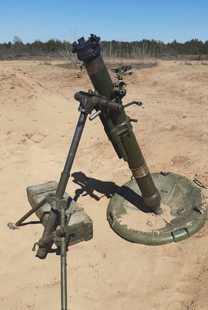 Українська бронетехніка витісняє конкурентів з ринку вітчизняних мінометів