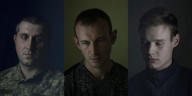 nostalgiczne portrety żołnierzy ukraińskich