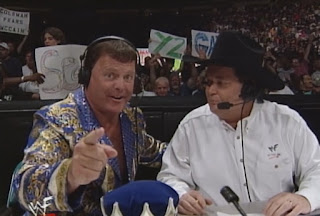 WWE / WWF - Unforgiven 1999 - Jim Ross & Jerry 'The King' Lawler called the action