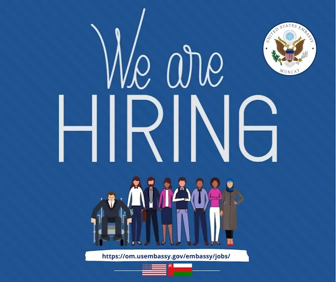 US Embassy at Oman is recruiting