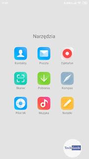 Xiaomi MIUI 11 Ikony aplikacji systemowych
