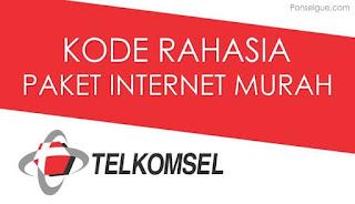 Kode Unik Paket Internet Telkomsel Murah Saat Ini