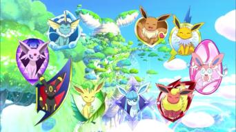 Corto 8. Pokémon: Eevee y sus amigos