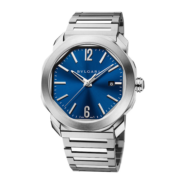 Bulgari Octo Roma with blue dial