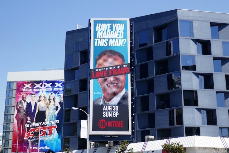 Love Fraud season 1 billboard