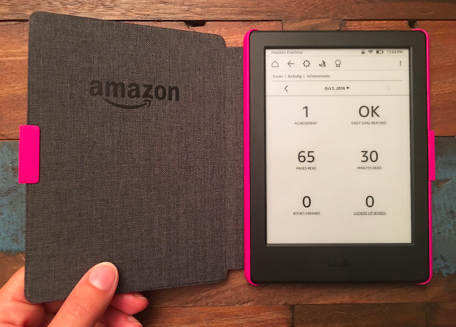 Celebrate Reading Milestones with Kindle FreeTime