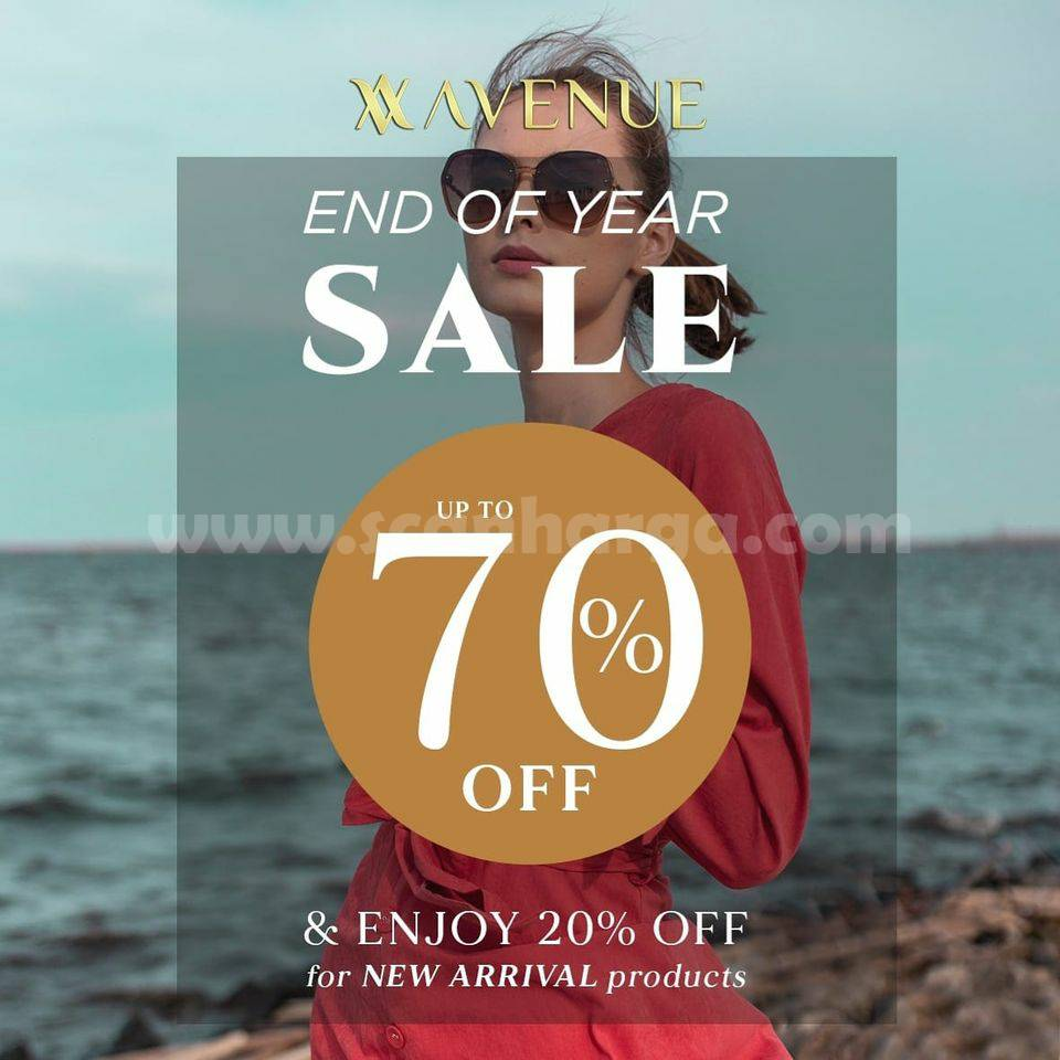 Promo Avenue Clothing End Of Year SALE: Discount Up To 70% Off + 20% OFF New Arrival