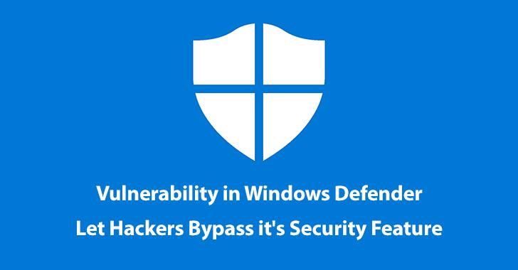 Windows Defender Application