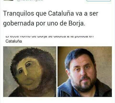 Tranquilos que Cataluña será gobernada por uno de Borja,Zaragoza, Aragón