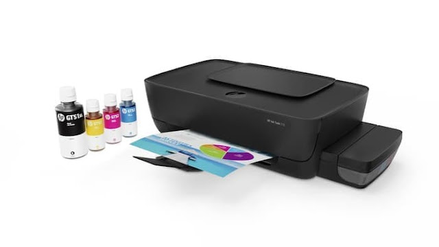 Download dan Cara Install Driver Printer Hp Ink Tank 115