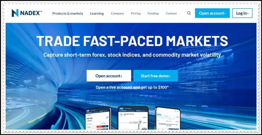 Мошеннический сайт nadex.com – Отзывы, развод! Компания Nadex мошенники