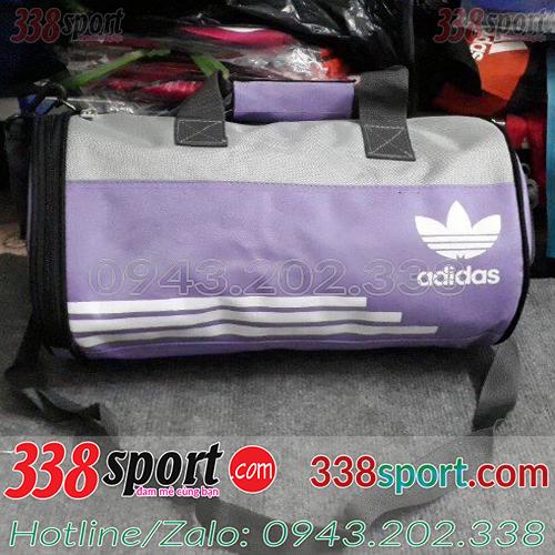 Túi Trống Adidas Tím