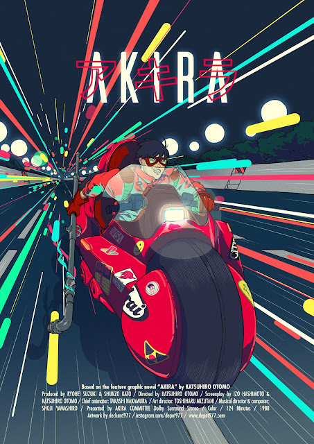 Akira Poster by Deckard977