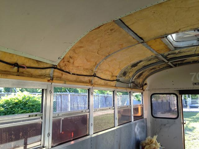 plafond autobus