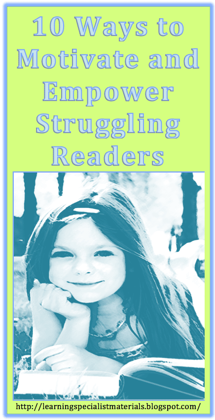 how to empower struggling readers
