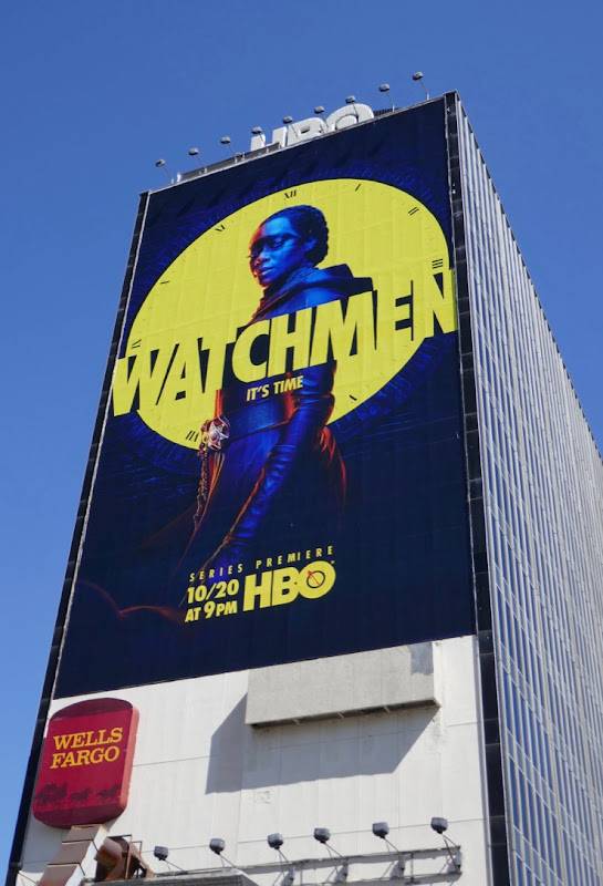 Giant Watchmen TV series billboard