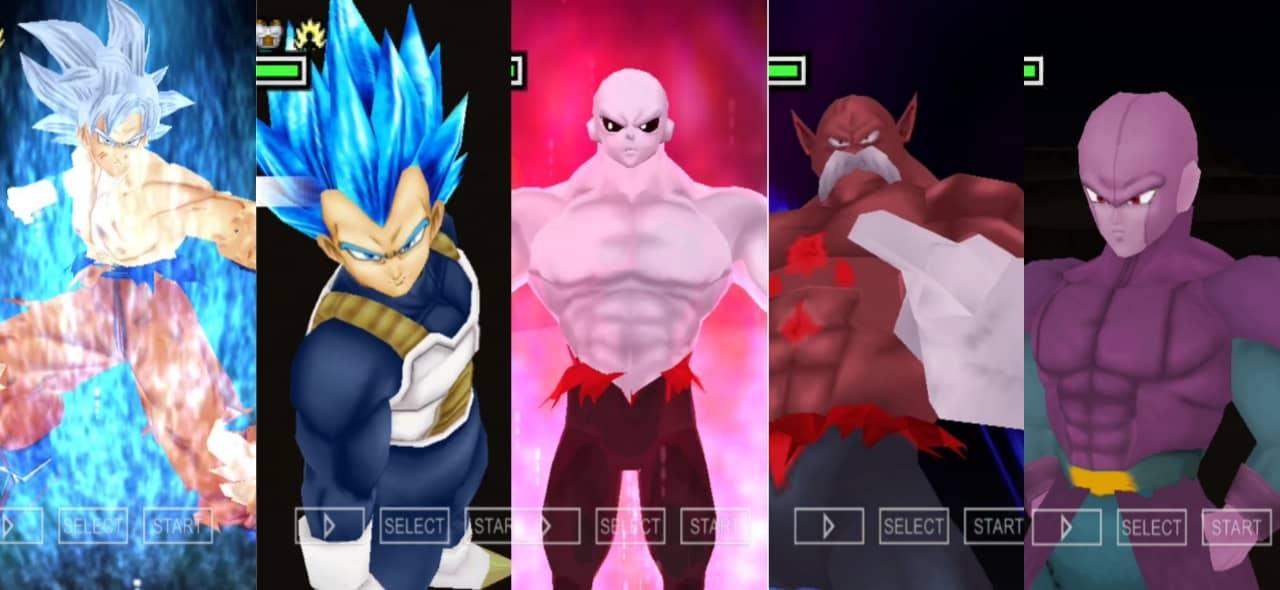 Dragon Ball Super DBZ TTT Mod Tournament of Power