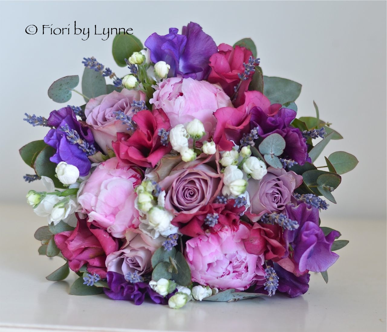 Purple And Pink Wedding Flowers: Wedding Flowers Blog: Lauren's Early Summer Lavender